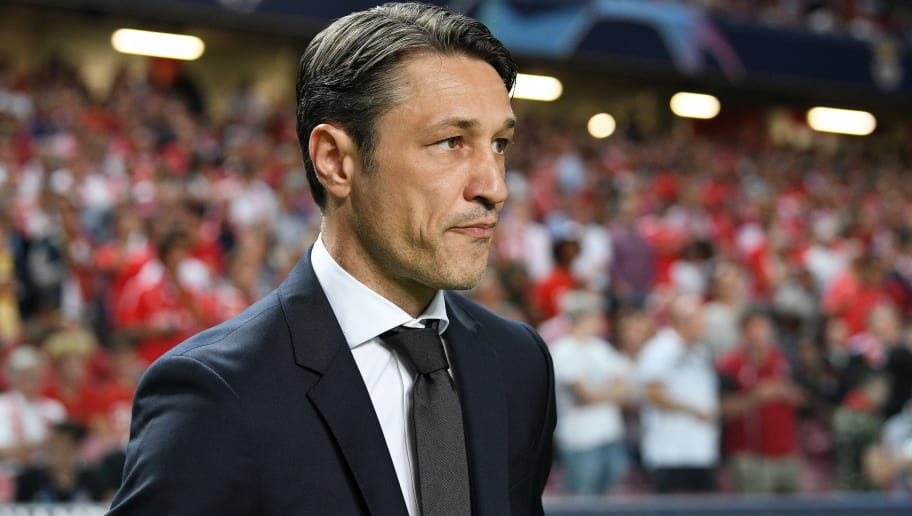 LISBON, PORTUGAL - SEPTEMBER 19:  Niko Kovac, Manager of Bayern Munich looks on prior to the Group E match of the UEFA Champions League between SL Benfica and FC Bayern Muenchen at Estadio da Luz on September 19, 2018 in Lisbon, Portugal.  (Photo by Octavio Passos/Getty Images)