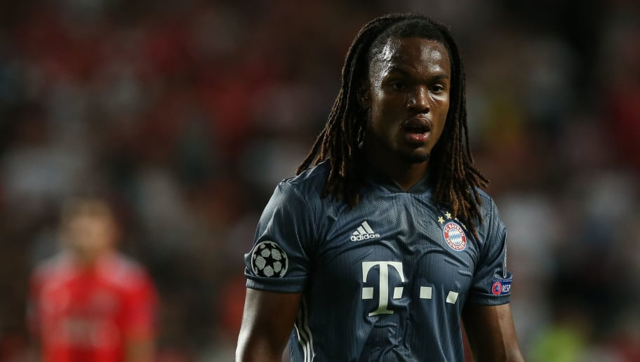 LISBON, PORTUGAL - SEPTEMBER 19: Renato Sanches of Bayern Munchen during the UEFA Champions League Group E match between SL Benfica and FC Bayern Munchen at Estadio da Luz on September 19, 2018 in Lisbon, Portugal.  (Photo by Gualter Fatia/Getty Images)