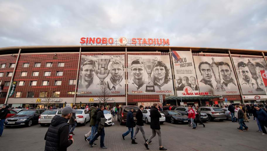 Slavia Prague v Chelsea - UEFA Europa League Quarter Final : First Leg