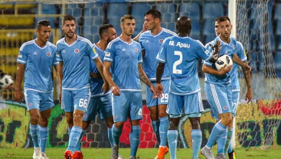 Slovan Bratislava v SK Rapid Wien - UEFA Europa League third Qualifying Round: 1st Leg