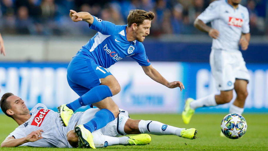 SOCCER CL GROUP STAGE E GENK VS NAPOLI