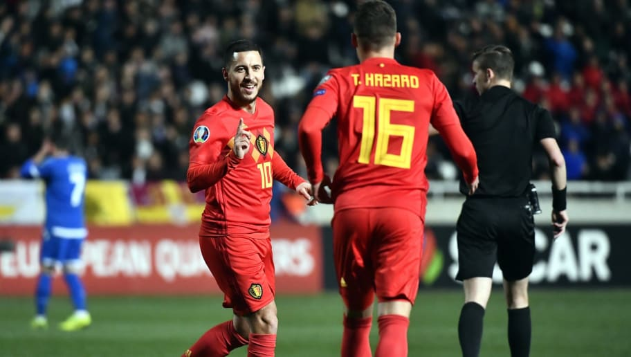 SOCCER EURO2020 QUALIFICATION CYPRUS VS BELGIUM