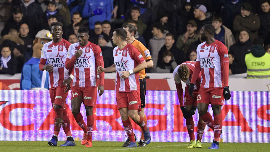 SOCCER JPL D23 KRC GENK VS ROYAL EXCEL MOUSCRON