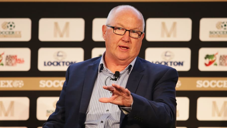 MANCHESTER, ENGLAND - SEPTEMBER 26:  Les Reed, Southampton Executive Director talks during day 1 of the Soccerex Global Convention 2016 at Manchester Central Convention Complex on September 26, 2016 in Manchester, England.  (Photo by Daniel Smith/Getty Images for Soccerex)