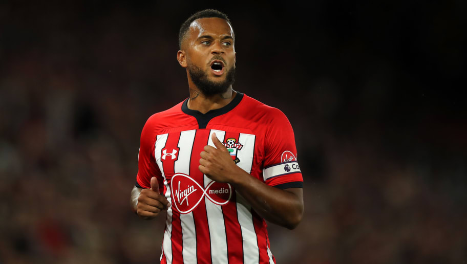 SOUTHAMPTON, ENGLAND - SEPTEMBER 17: Ryan Bertrand of Southampton during the Premier League match between Southampton FC and Brighton & Hove Albion at St Mary's Stadium on September 17, 2018 in Southampton, United Kingdom. (Photo by Matthew Ashton - AMA/Getty Images)