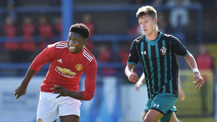 Southampton U16 v Manchester United U16: SuperCupNI