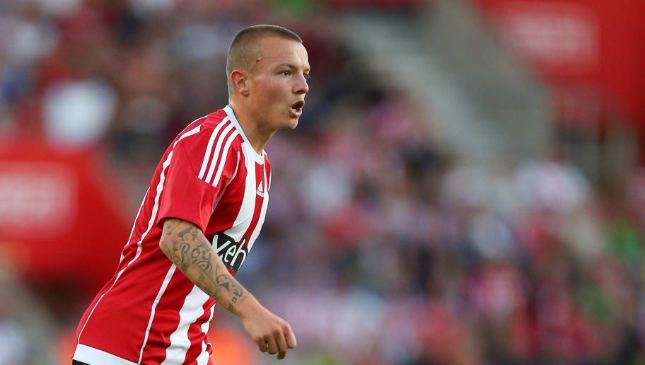 SOUTHAMPTON, ENGLAND - JULY 30:  Jordy Clasie of Southampton during the UEFA Europa League Qualifier between Southampton and Vitesse at St Mary's Stadium on July 30, 2015 in Southampton, England.  (Photo by Catherine Ivill - AMA/Getty Images)