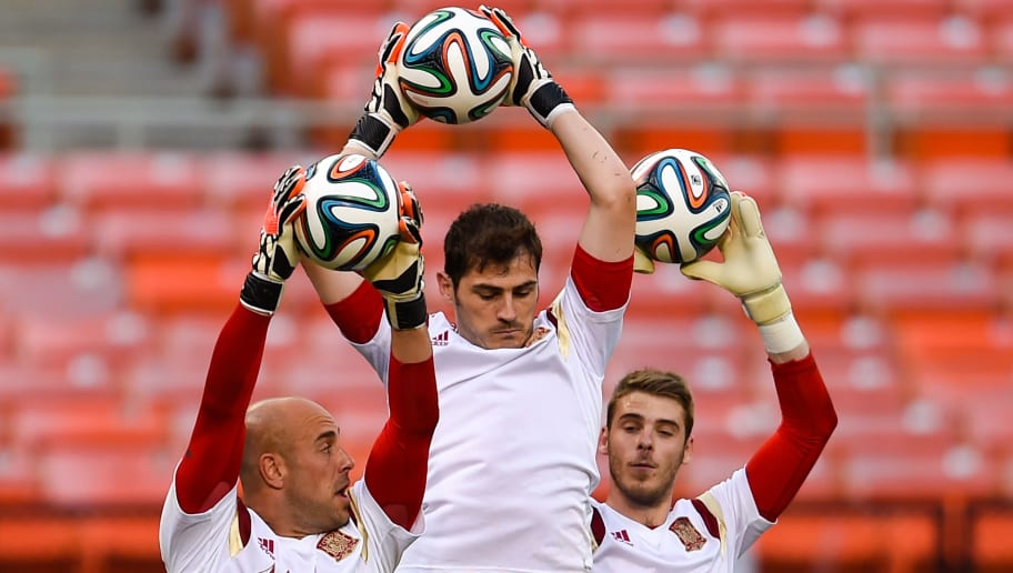 Pepe Reina,Iker Casillas,David de Gea