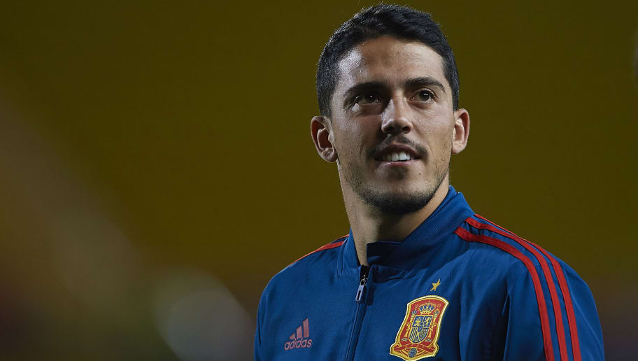 LAS PALMAS DE GRAN CANARIA, SPAIN - NOVEMBER 18:  Pablo Fornals of Spain looks on prior to the international friendly match between Spain and Bosnia & Herzegovina at Estadio de Gran Canaria on November 18, 2018 in Las Palmas de Gran Canaria, Spain.  (Photo by Quality Sport Images/Getty Images)