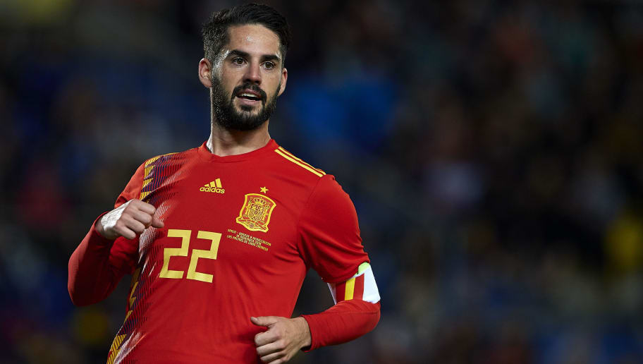 Real Madrid Midfielder Isco Alarcon Frustated Over Playing Time, Liverpool Links Continues
