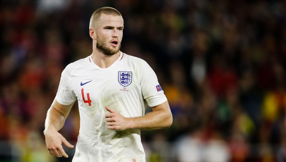 SEVILLA, SPAIN - OCTOBER 15: Eric Dier of England during the  UEFA Nations league match between Spain  v England  at the Estadio Benito Villamarin on October 15, 2018 in Sevilla Spain (Photo by Eric Verhoeven/Soccrates/Getty Images)