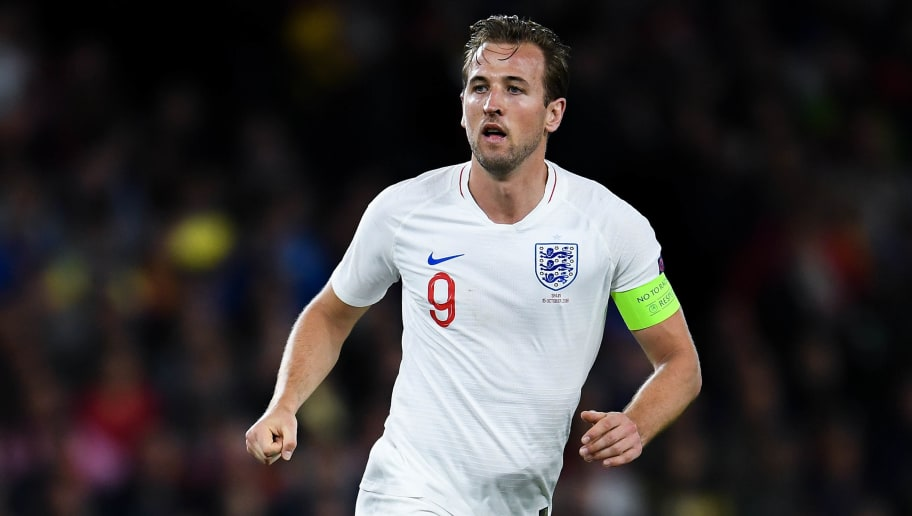 SEVILLE, SPAIN - OCTOBER 15:  Harry Kane of England looks on during the UEFA Nations League A group four match between Spain and England at Estadio Benito Villamarin on October 15, 2018 in Seville, Spain.  (Photo by David Ramos/Getty Images)
