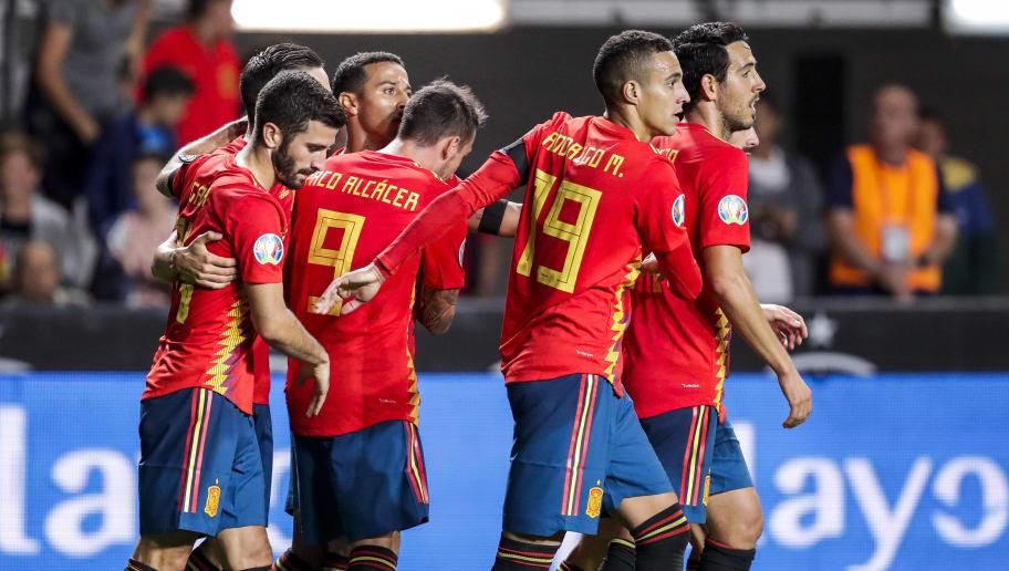 Daniel Parejo,Jose Gaya,Paco Alcacer,Rodrigo