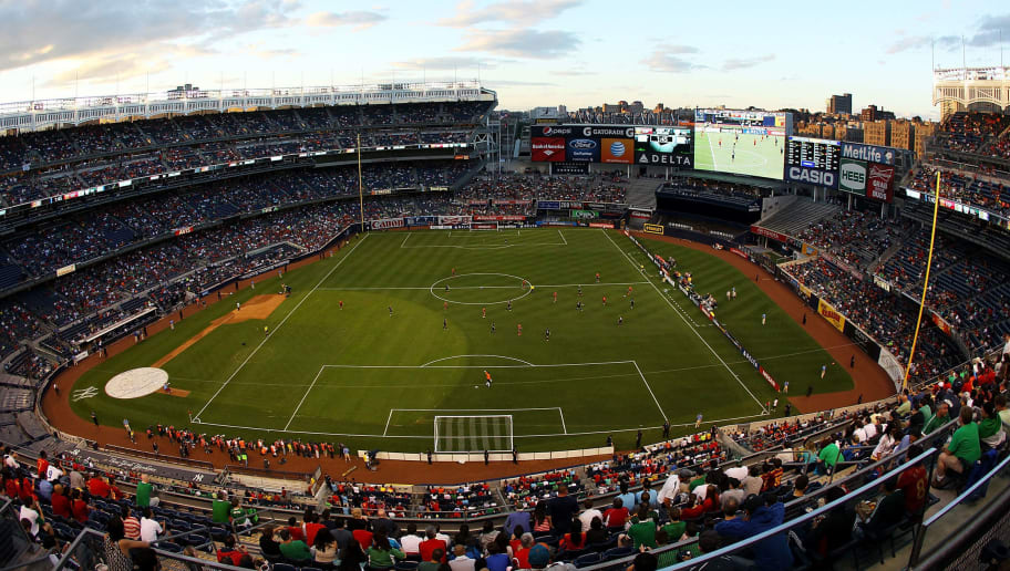NEW YORK, NY - JUNE 11:  A general view of the game between Spain and Ireland during an International friendly soccer match at Yankee Stadium on June 11, 2013 in the Bronx borough of New York City.  (Photo by Mike Stobe/Getty Images)