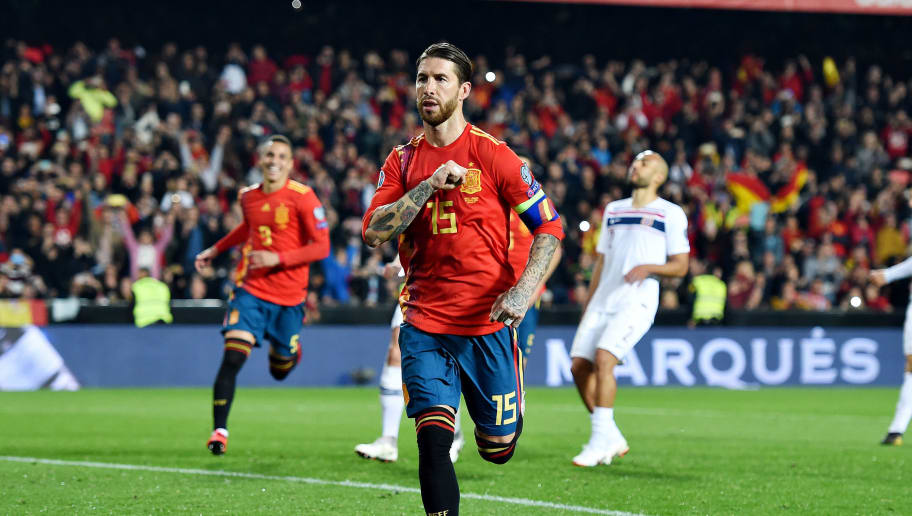 Stats Show That Sergio Ramos has Scored More Goals Than a Number of top Stars in Europe This Season