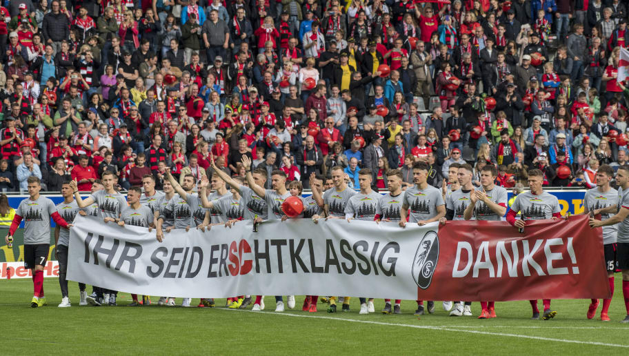Sport-Club Freiburg v 1. FC Nuernberg - Bundesliga