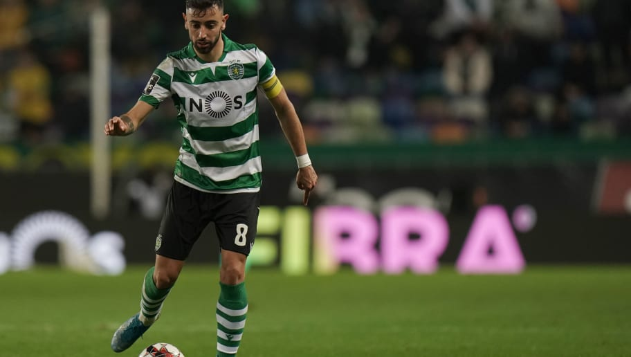 Manchester United Bound Bruno Fernandes Produces a Magical Pass in the Lisbon Derby