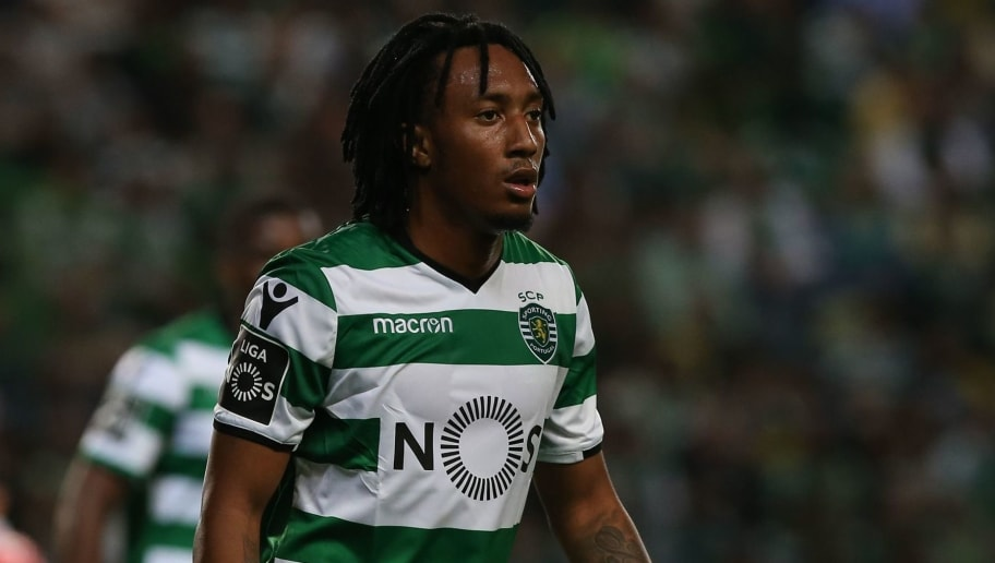 LISBON, PORTUGAL - MAY 5:  Sporting CP forward Gelson Martins from Portugal during the Primeira Liga match between Sporting CP and SL Benfica at Estadio Jose Alvalade on May 5, 2018 in Lisbon, Portugal.  (Photo by Gualter Fatia/Getty Images)