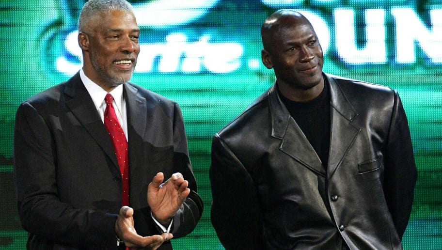 Julius Erving,Michael Jordan