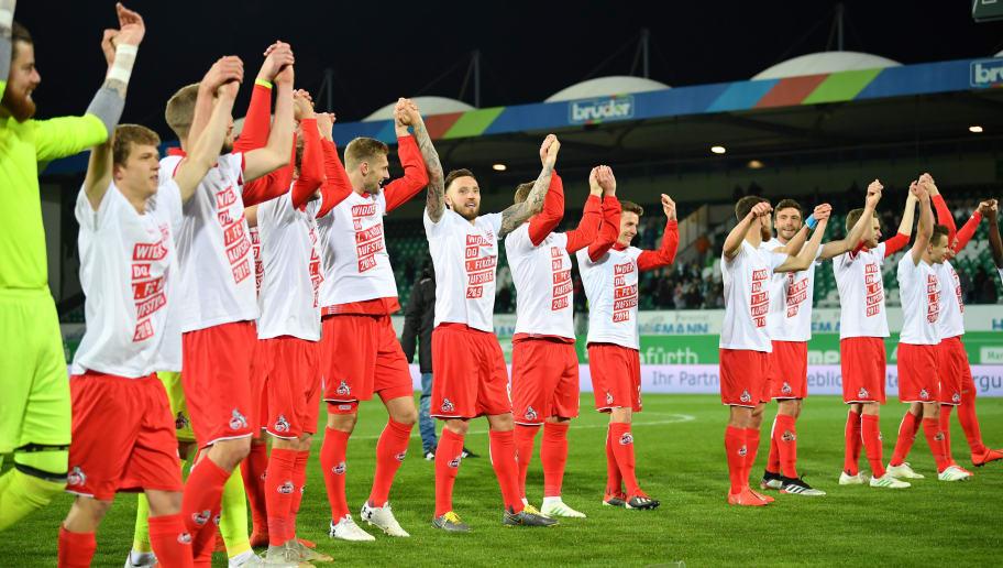 SpVgg Greuther Fuerth v 1. FC Koeln - Second Bundesliga