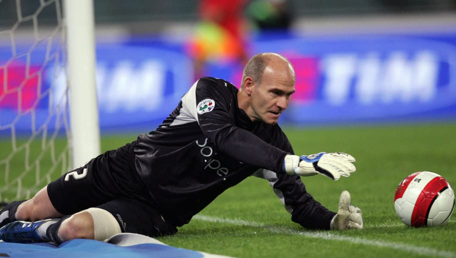 SS Lazio's goalkeeper Marco Ballotta los