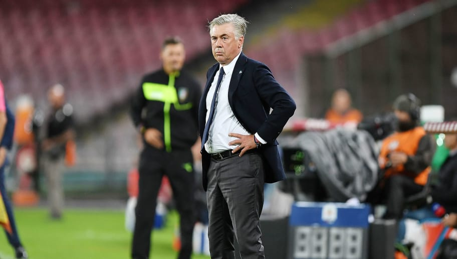 Image result for ancelotti as roma serie a