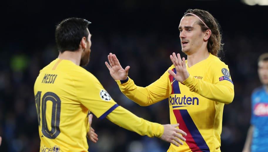 Lionel Messi,Antoine Griezmann