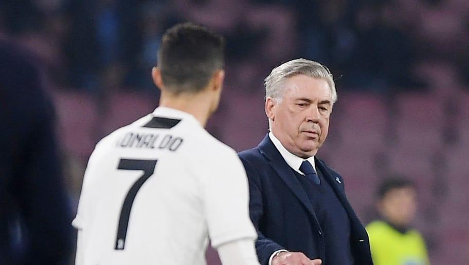 Carlo Ancelotti,Cristiano Ronaldo