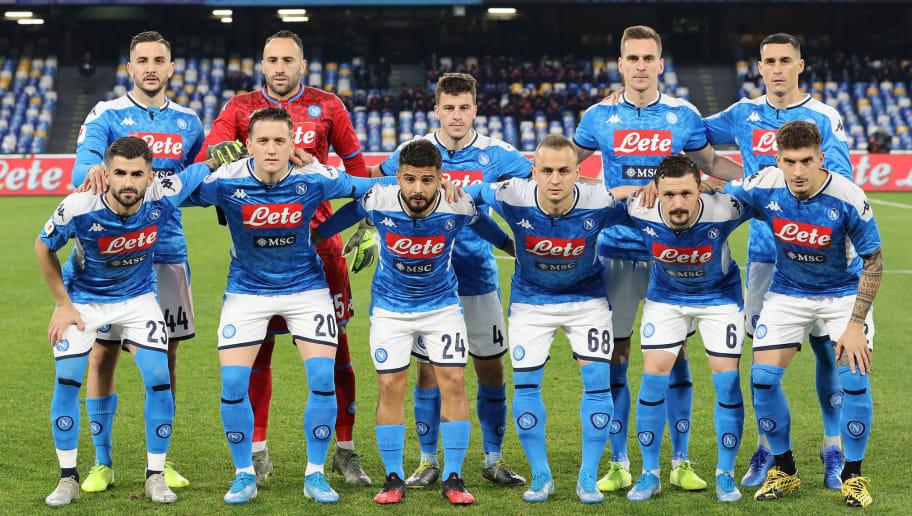 SSC Napoli v SS Lazio - Coppa Italia