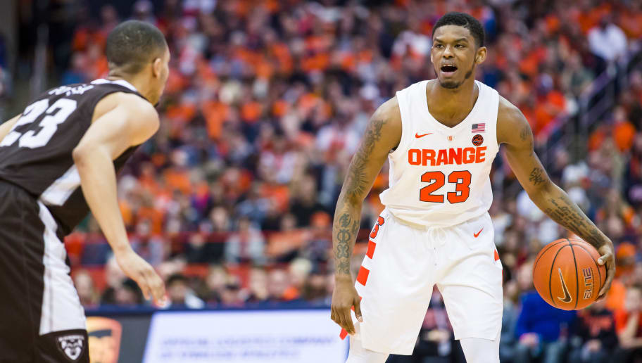 March Madness Frank Howard Suspended Indefinitely By: Syracuse Star Frank Howard Suspended Indefinitely For