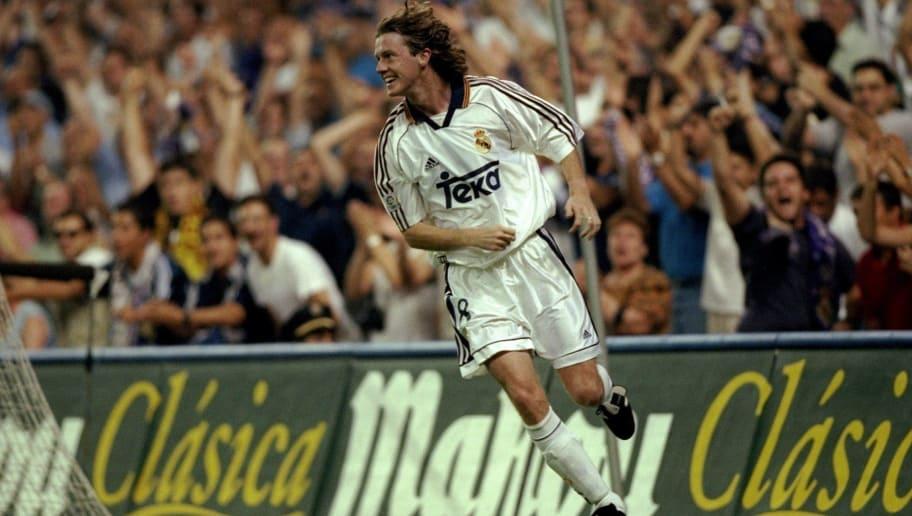 Steve McManaman of Real Madrid