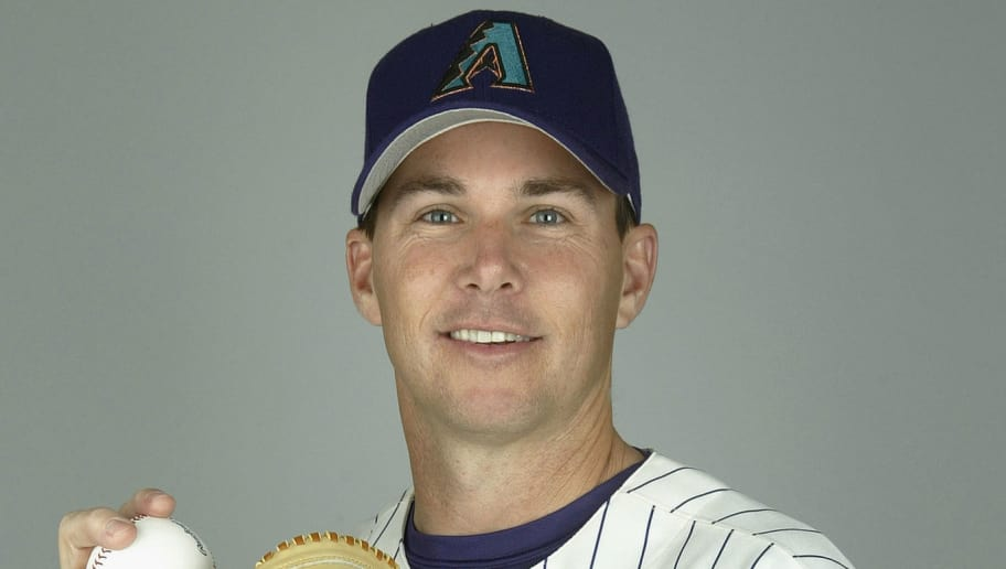 TUCSON, AZ - FEBRUARY 28:  Pitcher Steve Sparks #23 of the Arizona Diamondbacks poses for a portrait during Media Day at Tucson Electric Park on February 28, 2004 in Tucson, Arizona. (Photo by Jeff Gross/Getty Images)