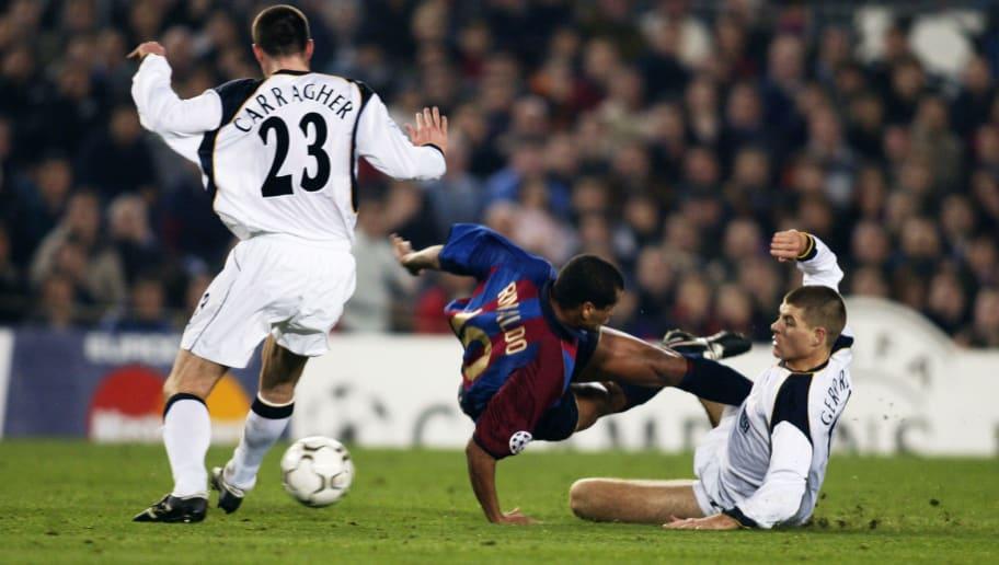 Steven Gerrard, Rivaldo, Jamie Carragher