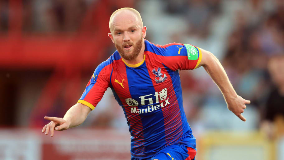 STEVENAGE, ENGLAND - JULY 24: Jonathan Williams of Crystal Palace during the Pre-Season Friendly between Stevenage and Crystal Palace at The Lamex Stadium on July 24, 2018 in Stevenage, England. (Photo by Marc Atkins/Getty Images)