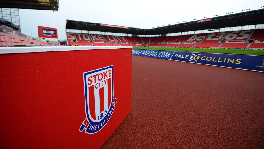 STOKE ON TRENT, ENGLAND - APRIL 07:  General view inside the stadium prior to the Premier League match between Stoke City and Tottenham Hotspur at Bet365 Stadium on April 7, 2018 in Stoke on Trent, England.  (Photo by Tony Marshall/Getty Images)