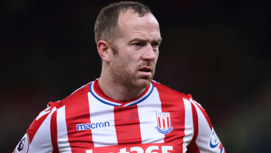 STOKE ON TRENT, ENGLAND - JANUARY 31: Charlie Adam of Stoke City during the Premier League match between Stoke City and Watford at Bet365 Stadium on January 31, 2018 in Stoke on Trent, England. (Photo by James Williamson - AMA/Getty Images)