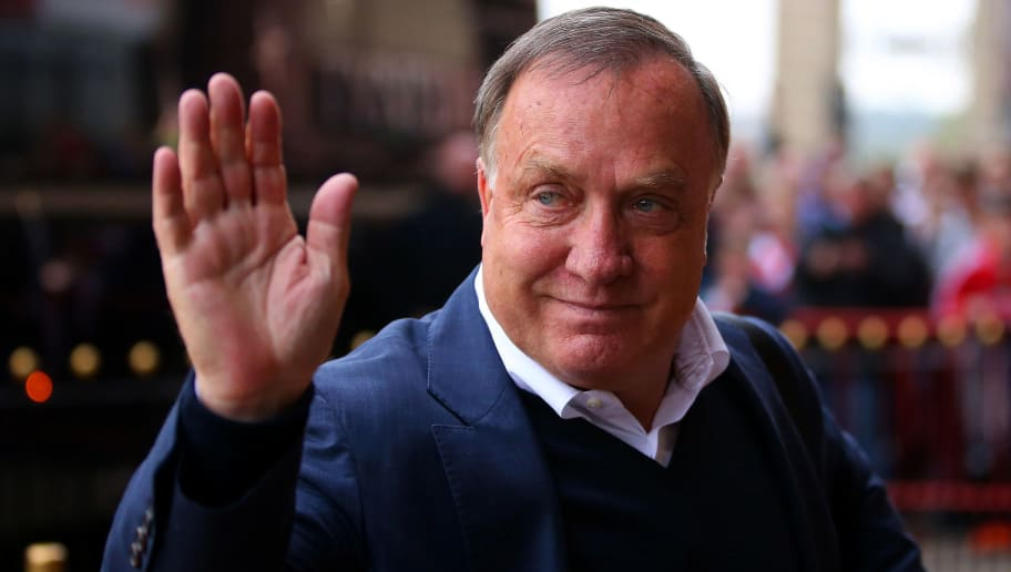 SUNDERLAND, ENGLAND - OCTOBER 03:  Dick Advocaat manager of Sunderland is seen on arrival at the stadium prior to the Barclays Premier League match between Sunderland and West Ham United at the Stadium of Light in Sunderland, United Kingdom.  (Photo by Ian MacNicol/Getty Images)