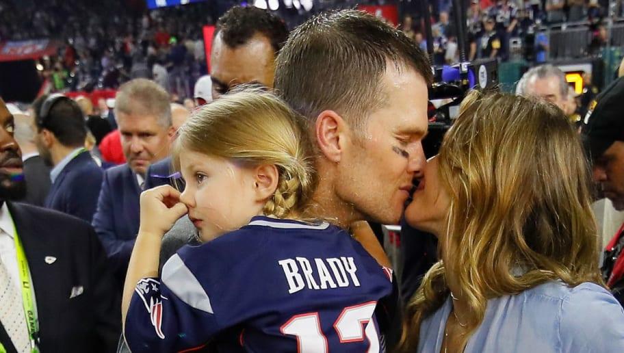 Vivan Brady,Gisele Bundchen,Tom Brady