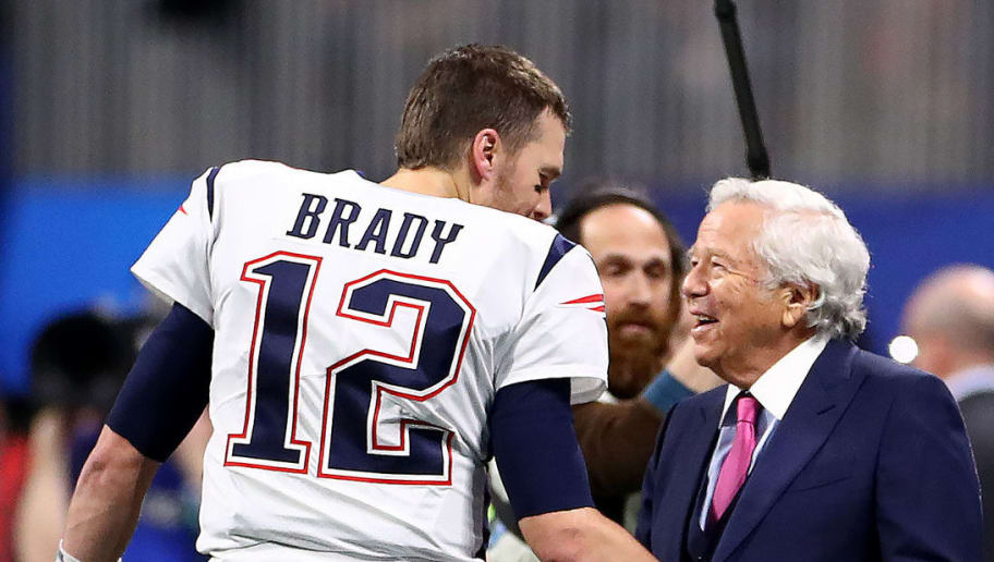 Tom Brady Hugged it Out With Robert Kraft After Ride Together in ...