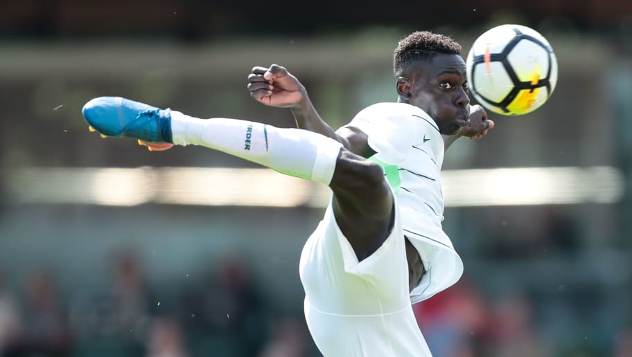 BREMEN, GERMANY - JULY 22: Idrissa Toure of Bremen in action during the 3. Liga match between SV Werder Bremen II and SpVgg Unterhaching at  on July 22, 2017 in Bremen, Germany.  (Photo by Oliver Hardt/Bongarts/Getty Images)
