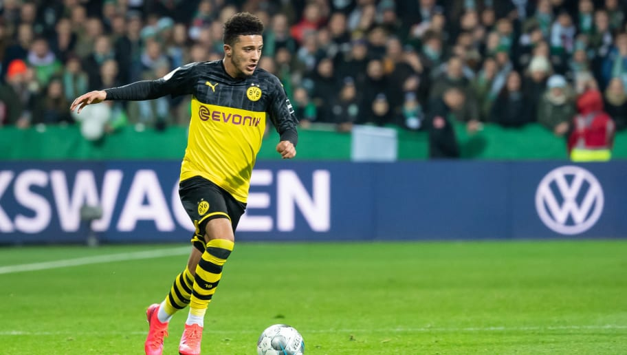 Borussia Dortmund in No Hurry to Sell Jadon Sancho as Value Could ...