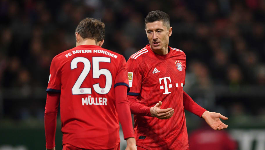 Robert Lewandowski,Thomas Mueller