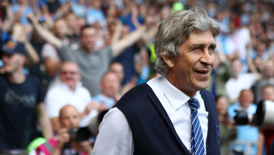 SWANSEA, WALES - MAY 15:  Manuel Pellegrini, manager of Manchester City looks on after the Barclays Premier League match between Swansea City and Manchester City at the Liberty Stadium on May 15, 2016 in Swansea, Wales.  (Photo by Michael Steele/Getty Images)
