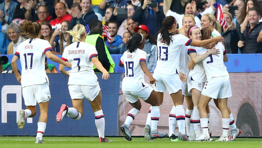 Lindsey Horan,Alex Morgan,Crystal Dunn,Abby Dahlkemper,Tobin Heath,Carli Lloyd