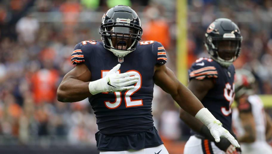 buy online f2d9e 01eba Bears Star Khalil Mack Still Adjusting to Life in Chicago | 12up