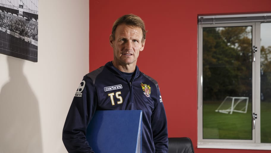 Teddy Sheringham Portrait Session