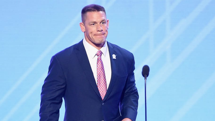 LOS ANGELES, CA - JULY 12:  Actor/wrestler John Cena speaks onstage at The 2017 ESPYS at Microsoft Theater on July 12, 2017 in Los Angeles, California.  (Photo by Kevin Winter/Getty Images)