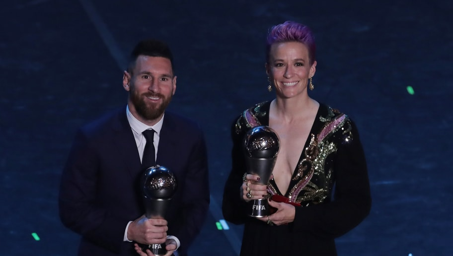 Lionel Messi,Megan Rapinoe