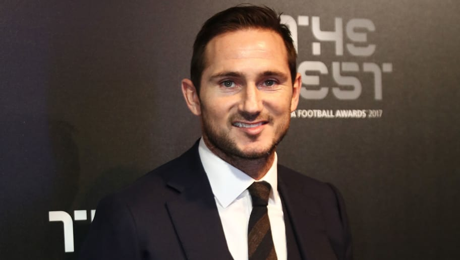 LONDON, ENGLAND - OCTOBER 23:  Frank Lampard arrives for The Best FIFA Football Awards - Green Carpet Arrivals on October 23, 2017 in London, England.  (Photo by Bryn Lennon/Getty Images)