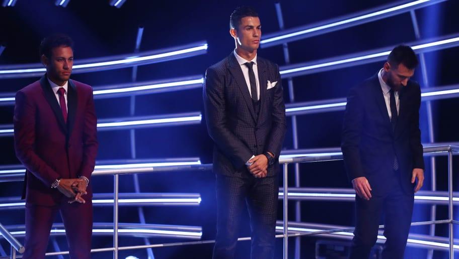 Lionel Messi,Cristiano Ronaldo,Neymar